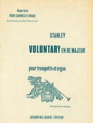 Voluntary En Ré Majeur - John Stanley - Partition - laflutedepan.com