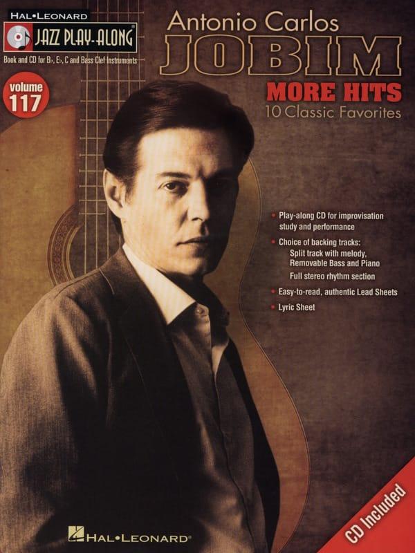 Jazz play-along volume 117 - Antonio Carlos Jobim - More Hits - laflutedepan.com