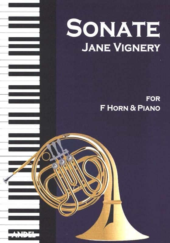 Sonate opus 7 - Jane Vignery - Partition - Cor - laflutedepan.com