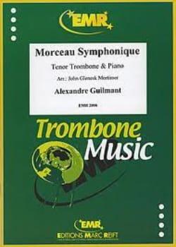 Alexandre Guilmant - Symphonic piece - Partition - di-arezzo.co.uk