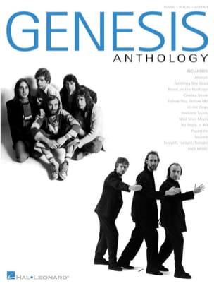 Anthology - Genesis - Partition - Pop / Rock - laflutedepan.com