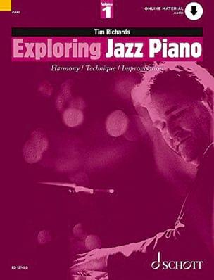 Tim Richards - Exploring Jazz Piano Volume 1 - Partition - di-arezzo.fr