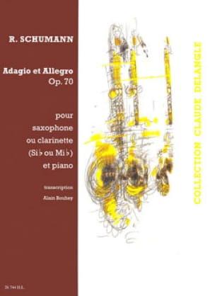 Adagio & Allegro Opus 70 - SCHUMANN - Partition - laflutedepan.com