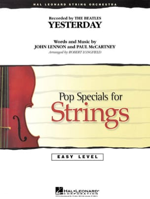 Yesterday - Pop Specials For Strings BEATLES Partition laflutedepan