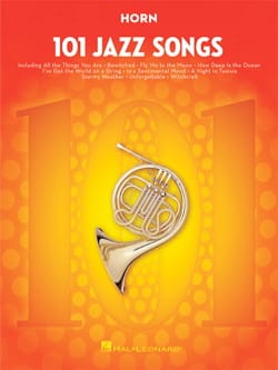 101 Jazz Songs for Horn Partition Cor - laflutedepan