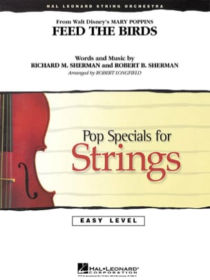 Feed the Birds from Mary Poppins - Pop specials for strings laflutedepan