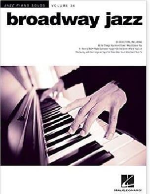 Jazz Piano Solos Series Volume 36 - Broadway Jazz laflutedepan