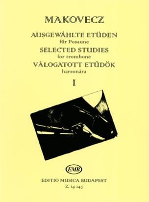 Selected studies for trombone volume 1 Pal Makovecz laflutedepan