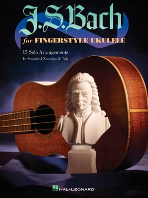 J.S. Bach For Fingerstyle Ukulélé BACH Partition laflutedepan