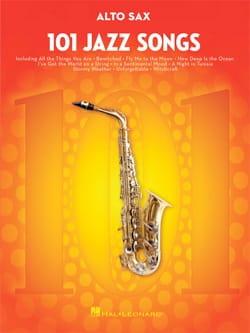 101 Jazz Songs for Alto Sax Partition Saxophone - laflutedepan