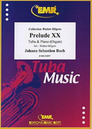 Prélude XX BWV 865, Teil I - BACH - Partition - laflutedepan.com