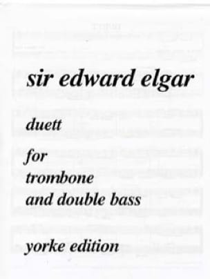 Duett - ELGAR - Partition - Trombone - laflutedepan.com