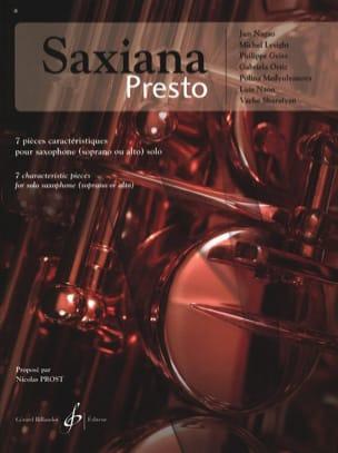 Saxiana Presto Partition Saxophone - laflutedepan