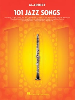 101 Jazz Songs for Clarinet Partition Clarinette - laflutedepan