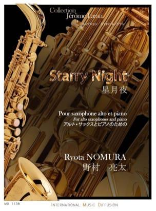Starry Night Ryota Nomura Partition Saxophone - laflutedepan