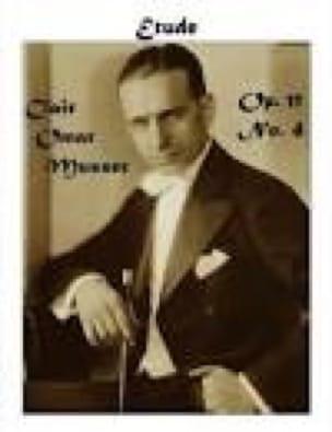 Etude Opus 11 N° 4 - Clair Omar Musser - Partition - laflutedepan.com