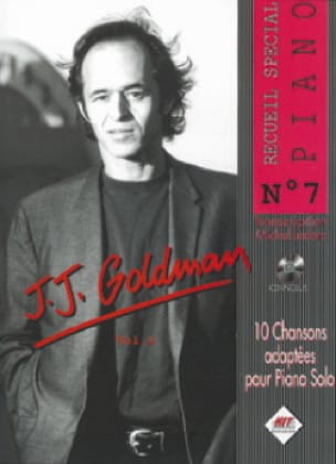 Recueil Spécial Piano N° 7 - Jean-Jacques Goldman - laflutedepan.com