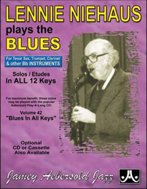 METHODE AEBERSOLD - Plays The Blues Saxo Bb - Partition - di-arezzo.co.uk