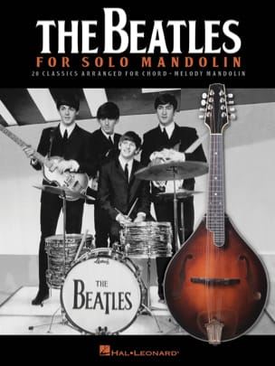 The Beatles for Solo Mandolin BEATLES Partition laflutedepan