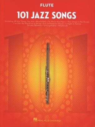 101 Jazz Songs for Flute Partition Flûte traversière - laflutedepan