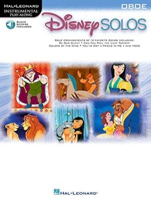 Disney Solos DISNEY Partition Hautbois - laflutedepan