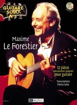 Maxime Le Forestier - Solo Chitarra N ° 1 - 12 parti appositamente adattate per chitarra - Partition - di-arezzo.it