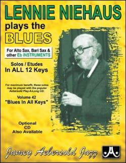 METHODE AEBERSOLD - Plays The Blues Saxo Eb - Partition - di-arezzo.co.uk