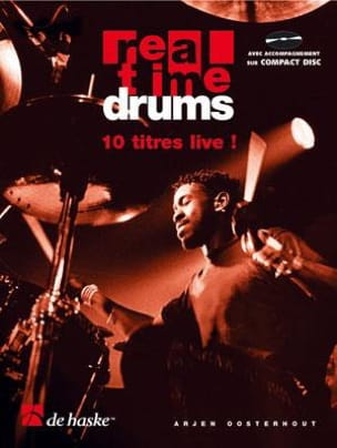 Real Time Drums 1 - In Songs Arjen Oosterhout Partition laflutedepan