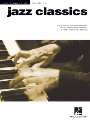 Jazz Piano Solos Volume 14 - Jazz Classics Partition laflutedepan
