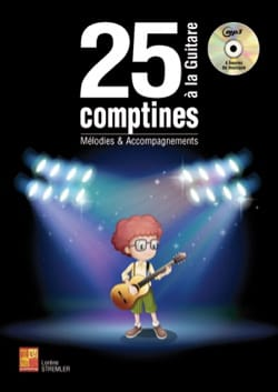 25 comptines à la guitare Partition Guitare - laflutedepan