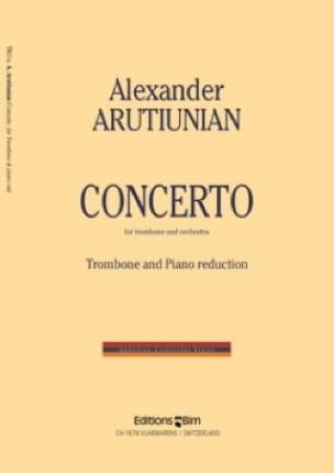 Concerto - Alexander Arutiunian - Partition - laflutedepan.com
