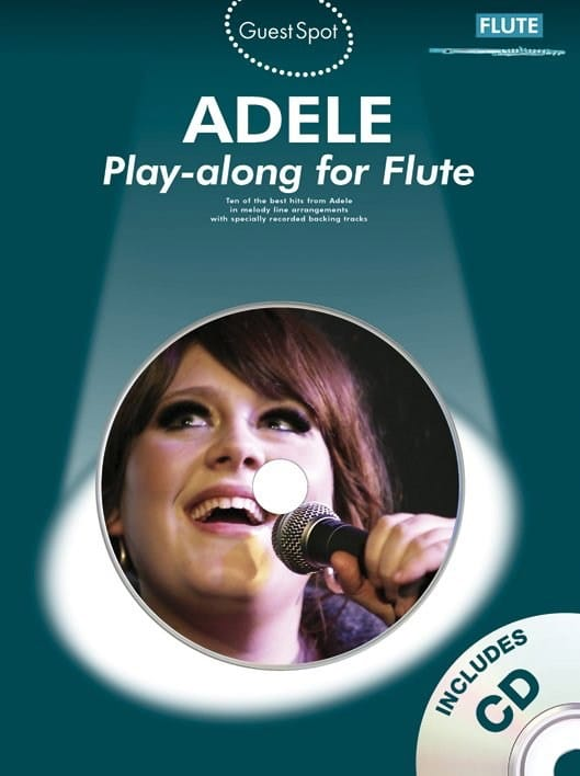 Guest Spot - Adele Play-Along for Flute - Adele - laflutedepan.com