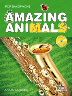 Amazing Animals Colin Cowles Partition Saxophone - laflutedepan