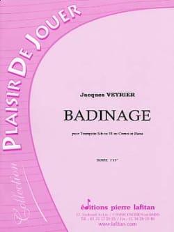 Badinage - Jacques Veyrier - Partition - Trompette - laflutedepan.com