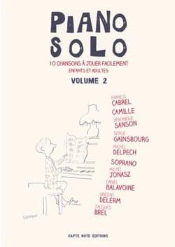 Piano Solo - Volume 2 Partition Chanson française - laflutedepan