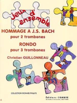 Hommage A J.S. Bach / Rondo - Christian Guillonneau - laflutedepan.com
