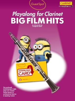Guest Spot - Big Film Hits Playalong For Clarinet laflutedepan