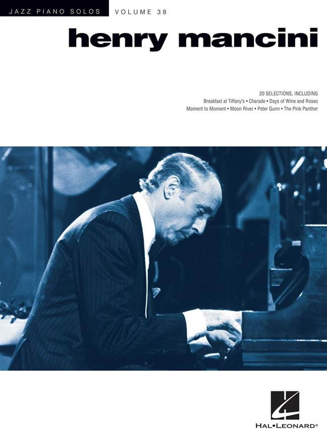 Jazz Piano Solos Series Volume 38 - Henry Mancini - laflutedepan.com