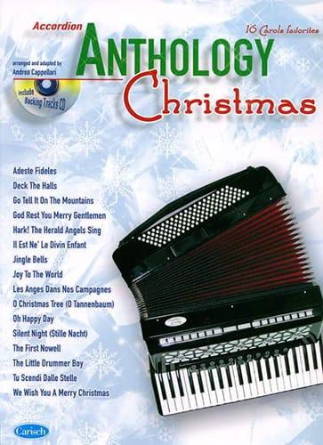Anthology Christmas - Noël - Partition - Accordéon - laflutedepan.com