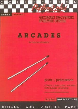 Arcades En Trois Mouvements Georges Paczynski Partition laflutedepan
