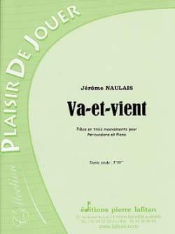Va-et-vient Jérôme Naulais Partition Multi Percussions - laflutedepan