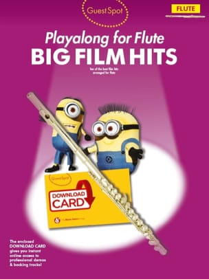 Guest Spot - Big Movie Hits Playalong For Flute - Partition - di-arezzo.co.uk