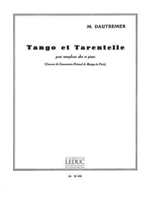 Tango Et Tarentelle Marcel Dautremer Partition laflutedepan