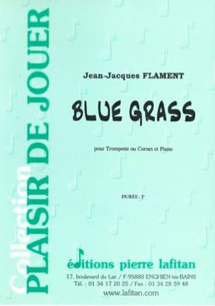 Blue Grass - Jean-Jacques Flament - Partition - laflutedepan.com