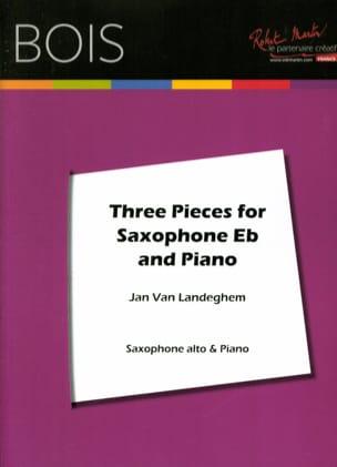 Three pieces for saxophone - Landeghem Jan Van - laflutedepan.com