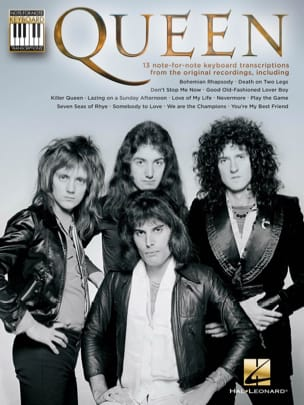 Queen - Note-for-Note Keyboard Transcriptions - Partition - di-arezzo.co.uk