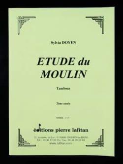 Etude du Moulin - Sylvia Doyen - Partition - laflutedepan.com