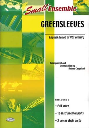 Greensleeves - Small Ensemble Partition ENSEMBLES - laflutedepan