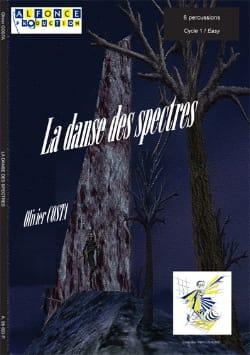 La Danse Des Spectres Olivier Costa Partition laflutedepan