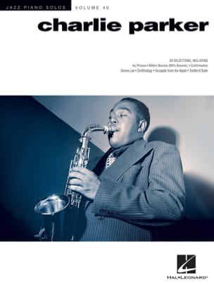 Jazz Piano Solos Series Volume 40 - Charlie Parker laflutedepan